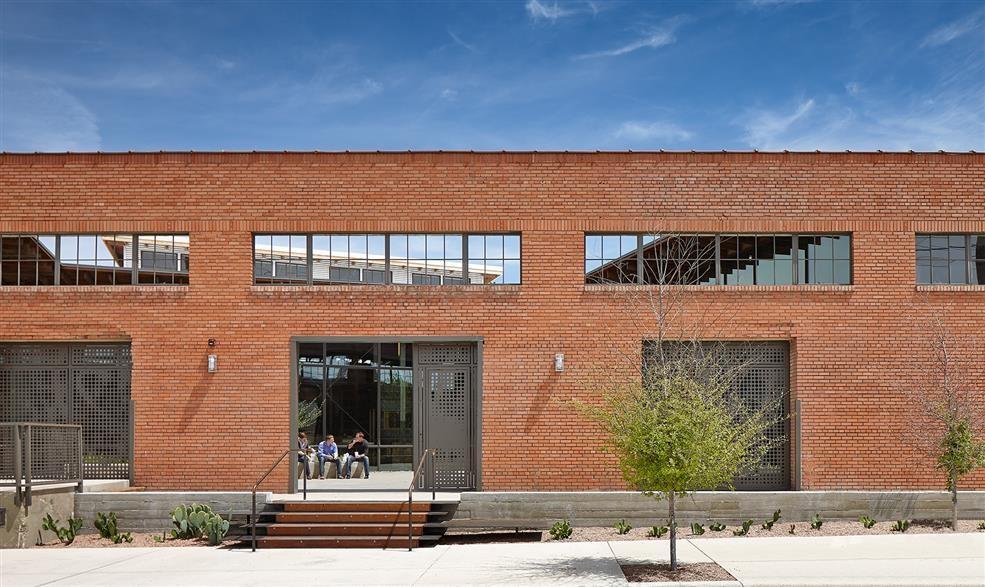 Gallery Of Hughes Warehouse Adaptive Reuse Overland