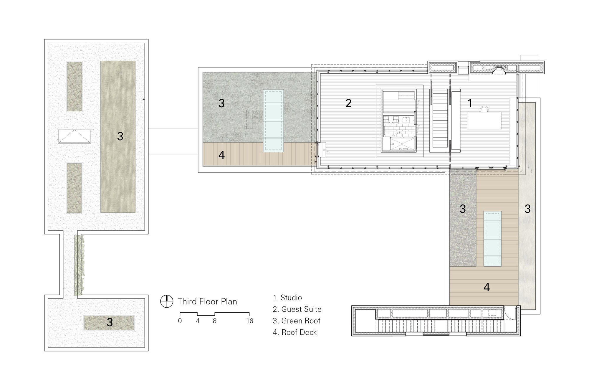 Gallery of wood house brininstool lynch 32 for Copying house plans