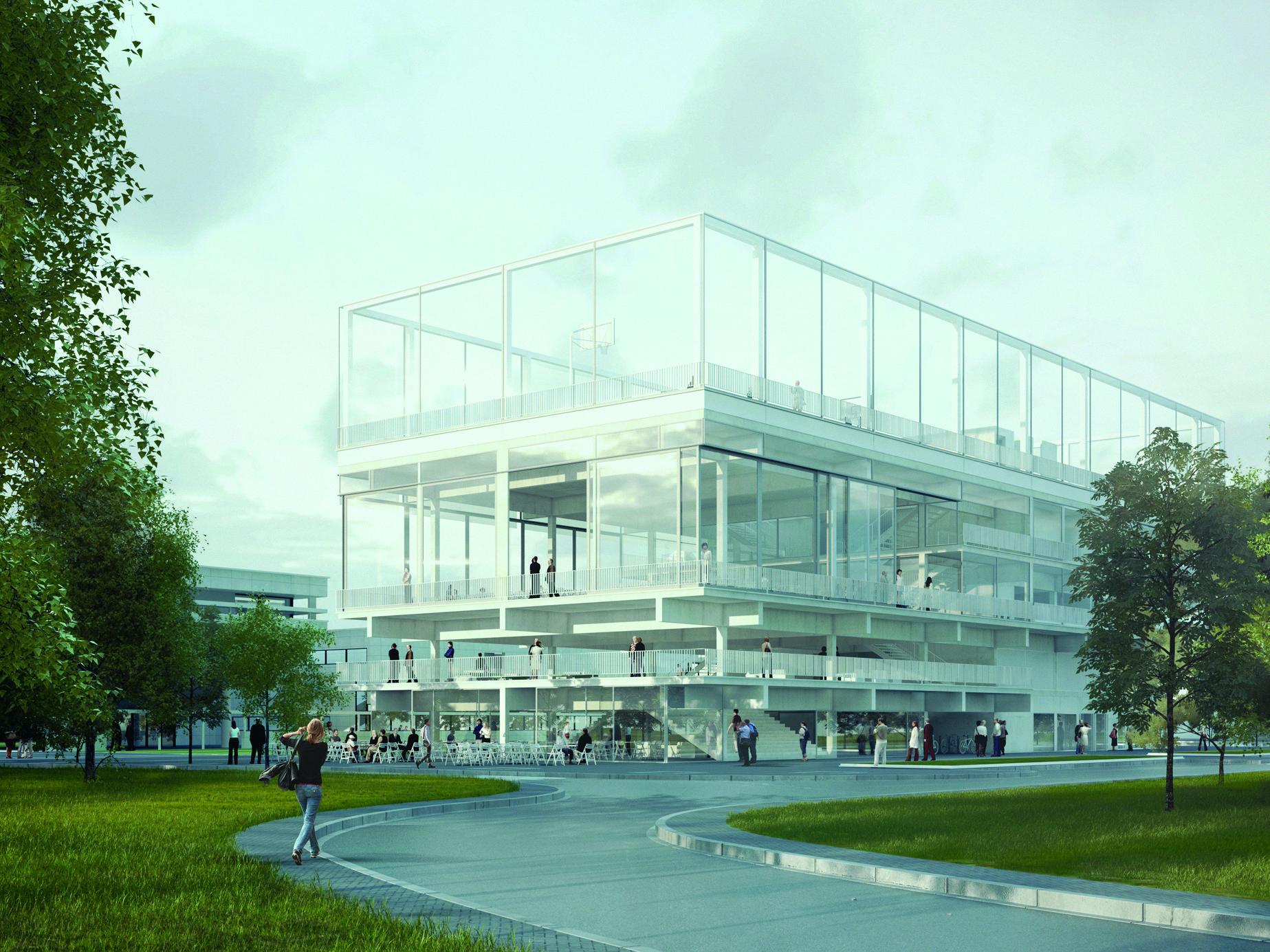 Public Condenser. Imagen Cortesía de Muoto Architects