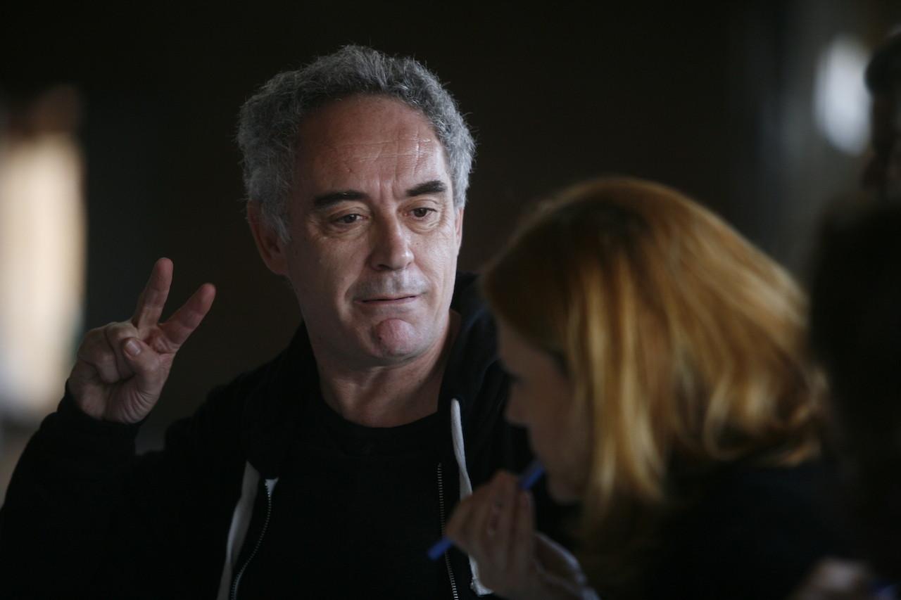 Ferran Adrià. Image Cortesia de Hay Festival Segovia