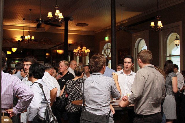 Networking is the Key to Advancement. Image Courtesy of Wikimedia Commons User Townsville Chamber