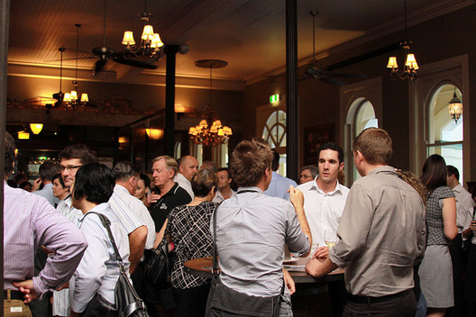 Networking is the key to progress. Image courtesy of Wikimedia Commons User Townsville Chamber