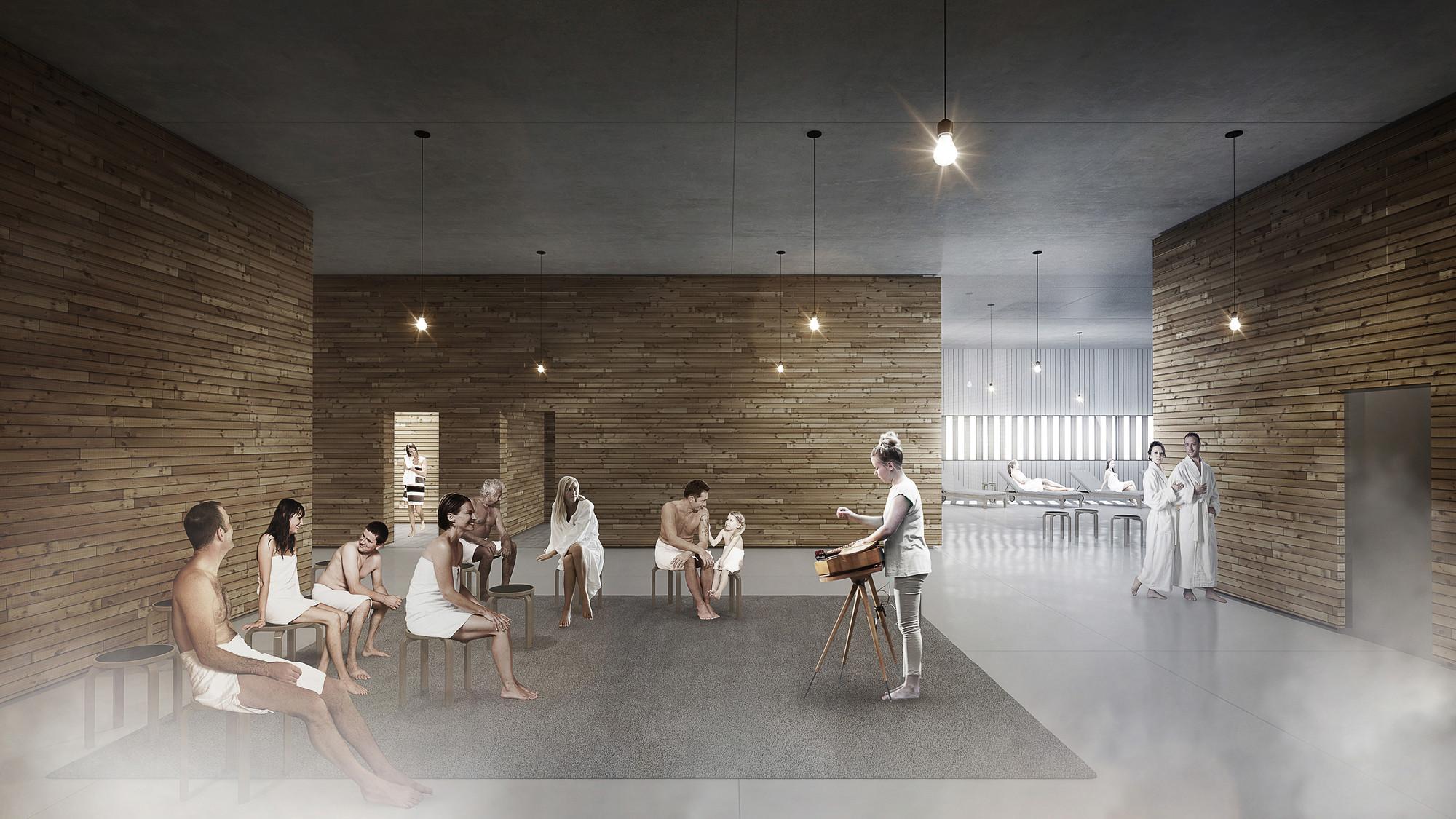 gallery of new images take you inside ala s helsinki central library 12. Black Bedroom Furniture Sets. Home Design Ideas