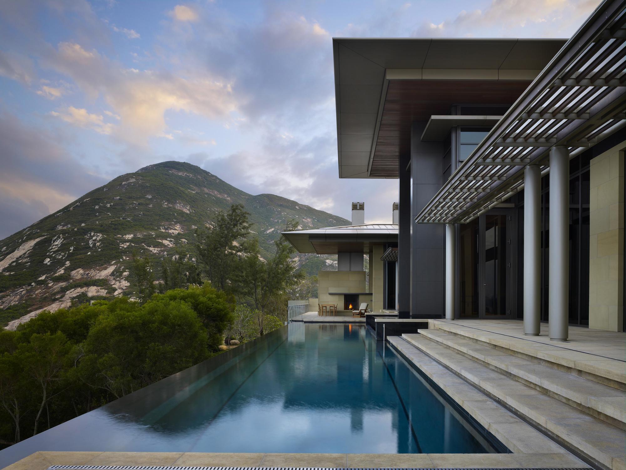 Hong Kong Villa, Chek-O, China © Benjamin Benschneider