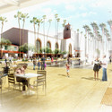 Open Space View in Forecourt. Image © Grimshaw / Gruen Associates, Courtesy of the Los Angeles County Metropolitan Transportation Authority (Metro)