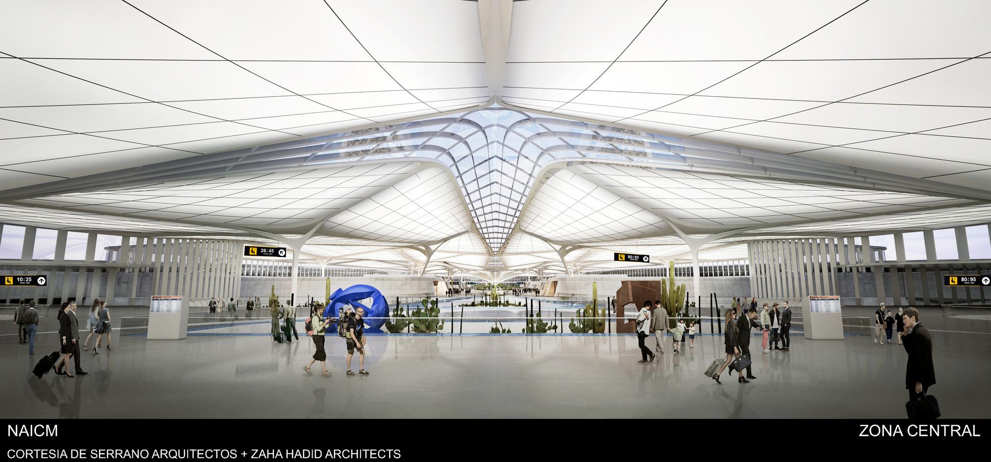 Cortesia de Serrano Arquitectos + Zaha Hadid Architects