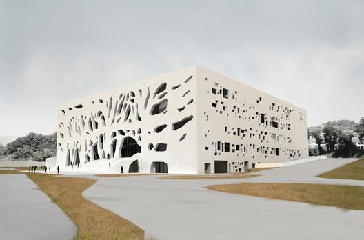 South East . Image Courtesy of Bernard Tschumi Architects