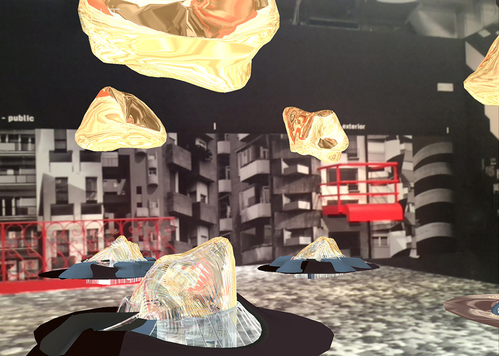"Hacking the Biennale: ""Project Source Code"" Uses Augmented Reality to Stage a Rebel Exhibition, Embryological House, 1997, Greg Lynn Form. Image Courtesy of Ozel Office"