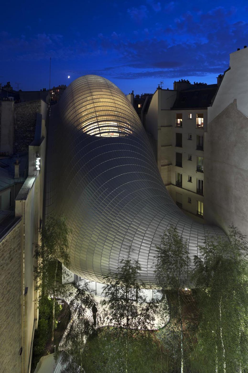 Gallery of path foundation renzo piano building workshop 2 - Fondation jerome seydoux pathe ...