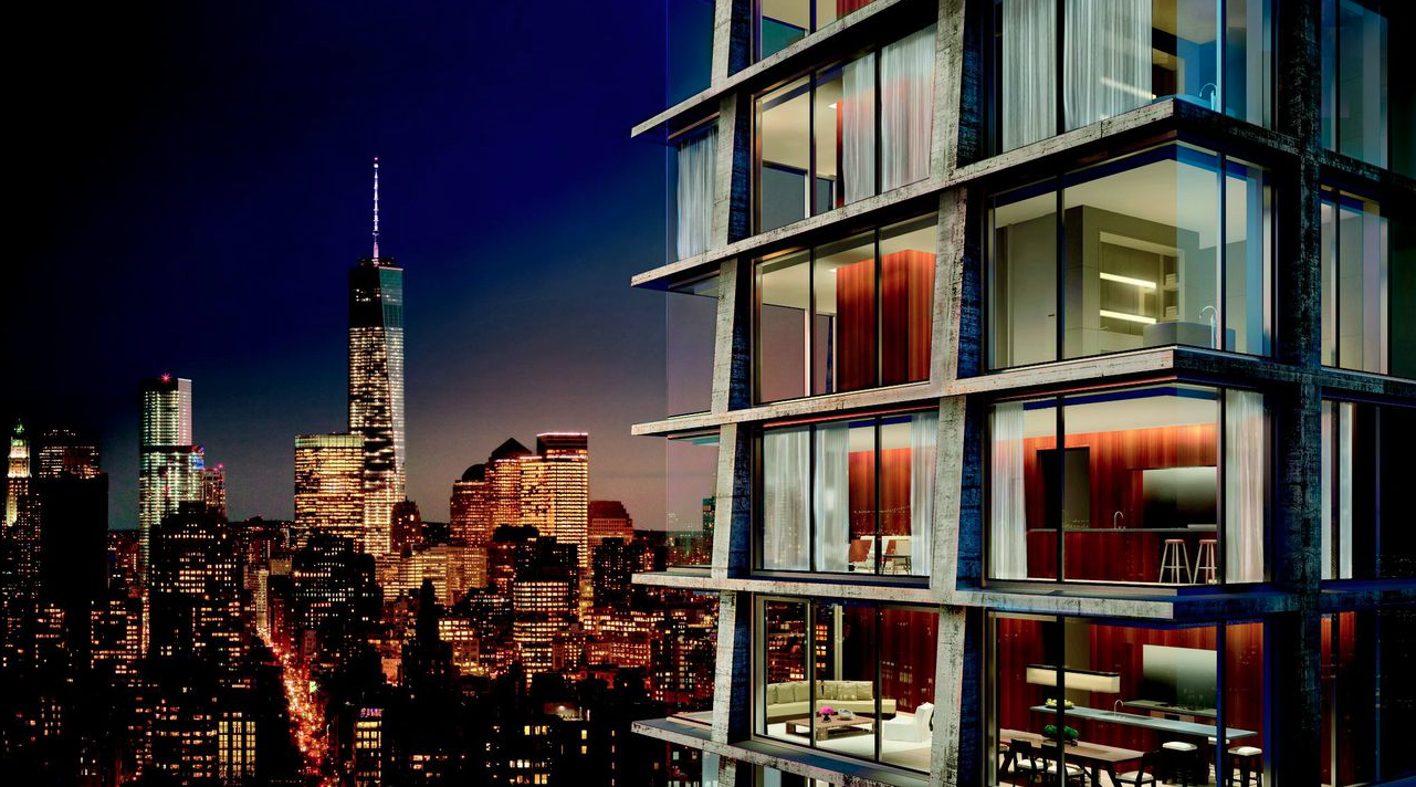 Herzog & de Meuron Designs 28-Story Luxury Tower for Manhattan, Courtesy of Ian Schrager Company