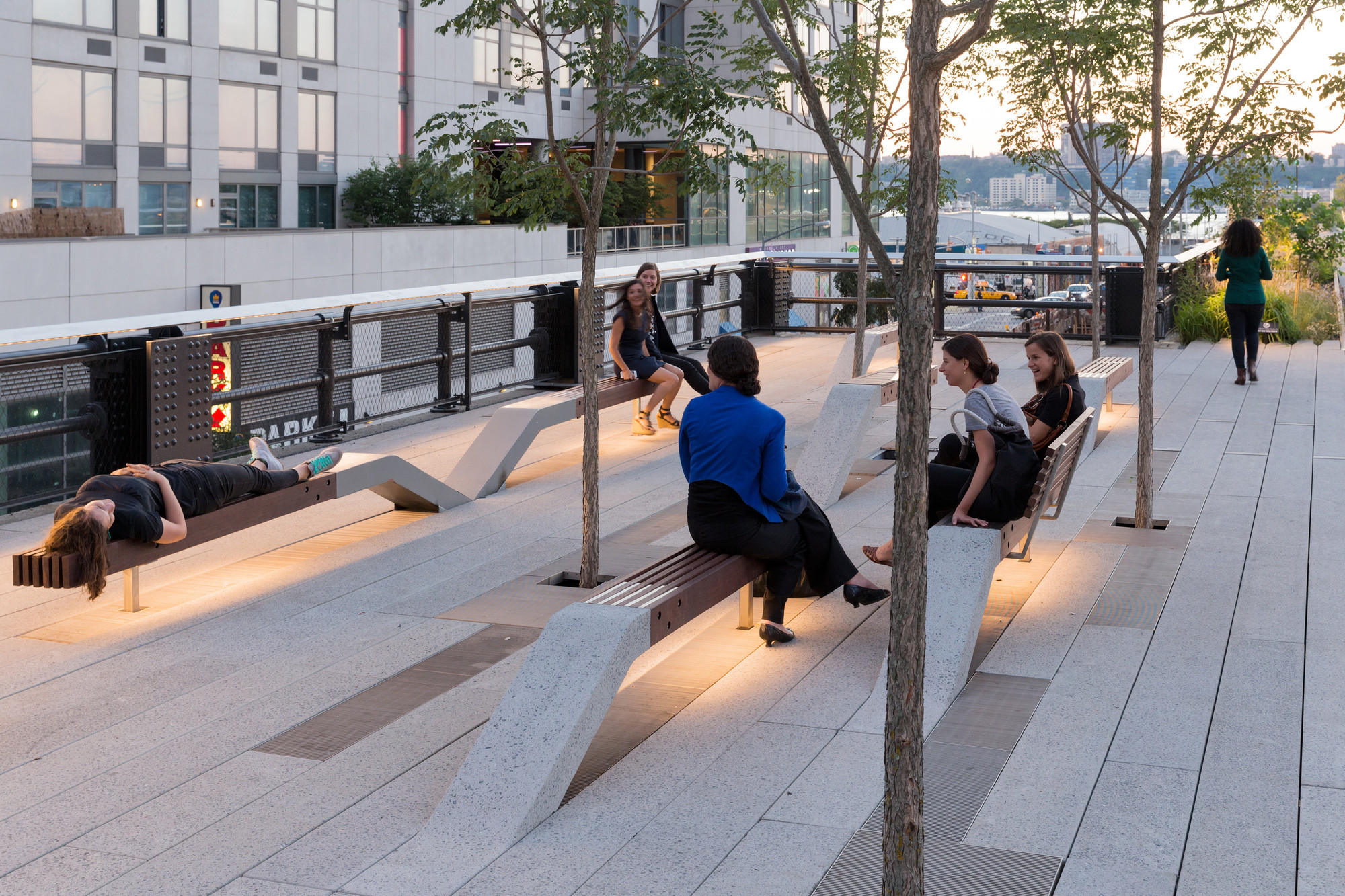 Tercera etapa: la sección 'forestal' en High Line at the Rail Yards. Image © Iwan Baan, 2014