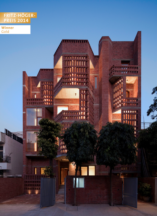 vir.mueller architects, Nueva Delhi, India | Edificio de viviendas en Nueva Delhi, India © Andre J. Fanthome