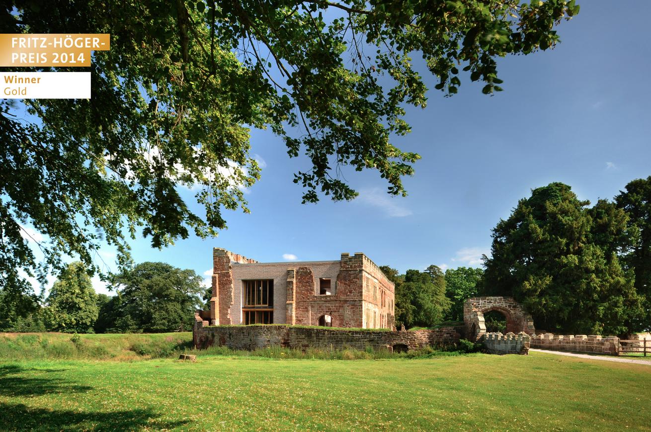 Witherford Watson Mann Architects, Londres, Reino Unido | Astley Castle, Nuneaton, Warwickshire, Reino Unido © Philip Vile