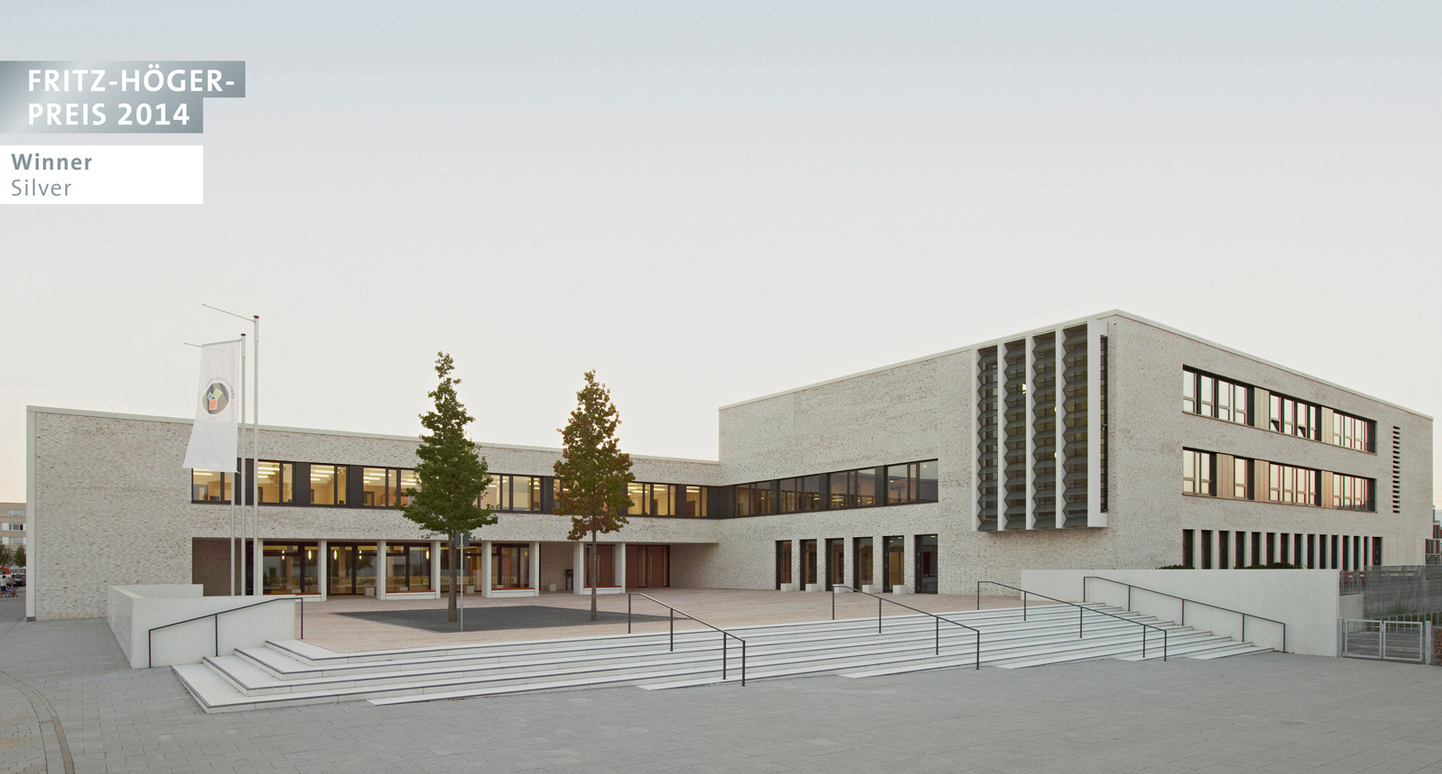 Ackermann + Raff, Stuttgart | Escuela secundaria en Frankfurt-Riedberg, Frankfurt  © Tomas Herrmann