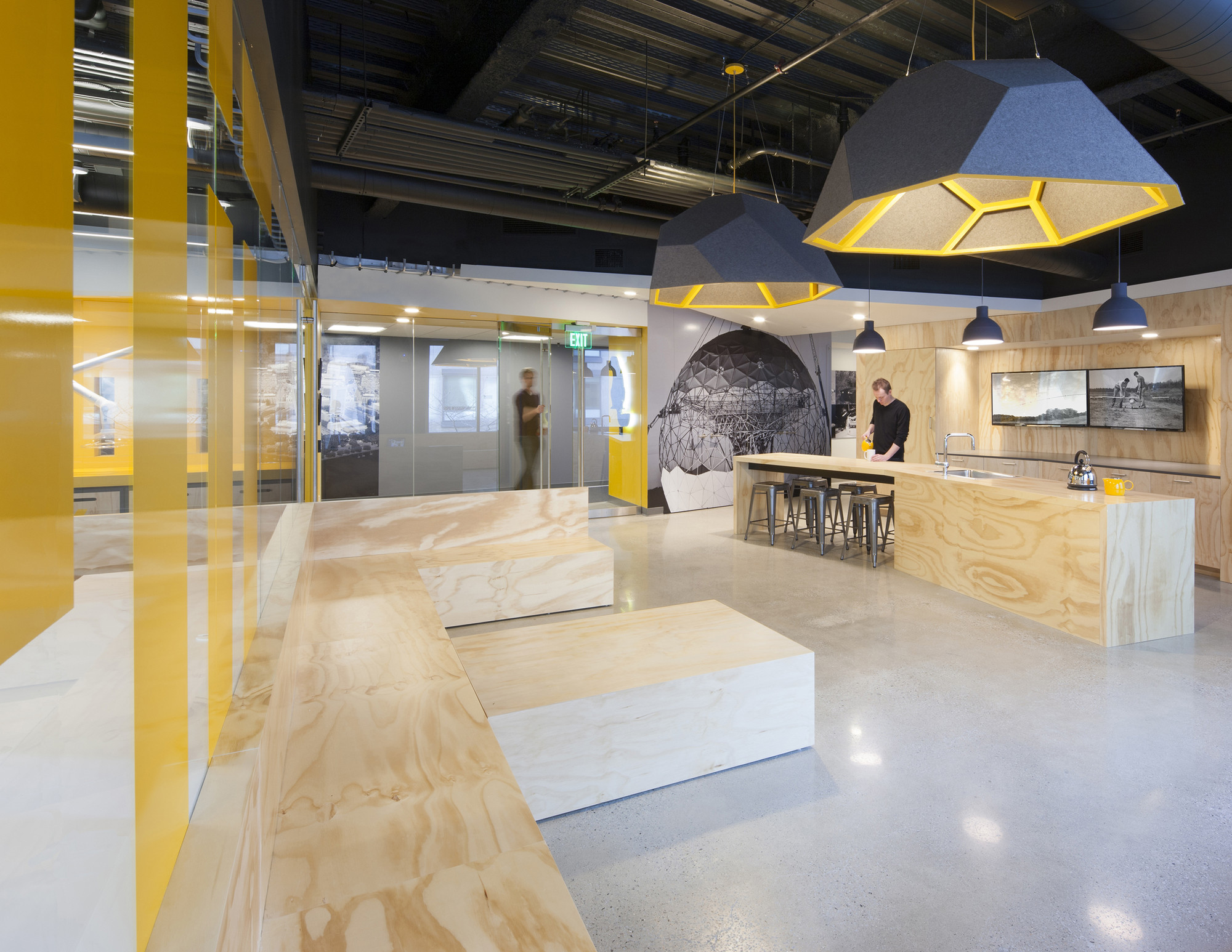 Mit beaver works merge architects archdaily for Office design works