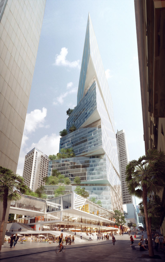 3XN Wins Approval for 200-Meter Tower in Sydney, Courtesy of 3XN