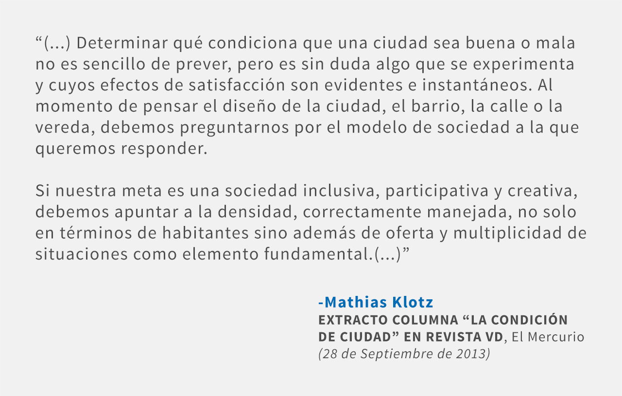 Frases: Mathias Klotz