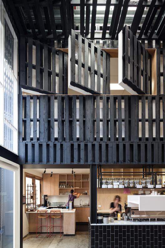 Café: Industry Beans (Australia) / Figureground Architecture