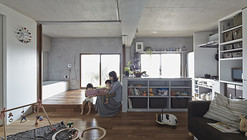 Bath Kitchen House / Takeshi Shikauchi