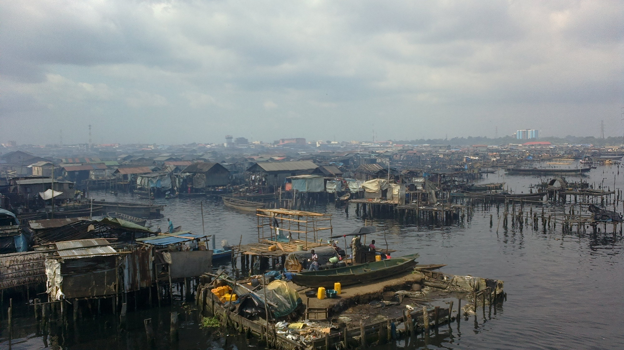 Finalists for 2014 Buckminster Fuller Challenge Announced, Makoko/Iwaya Waterfront Restoration Plan. Image © BFI