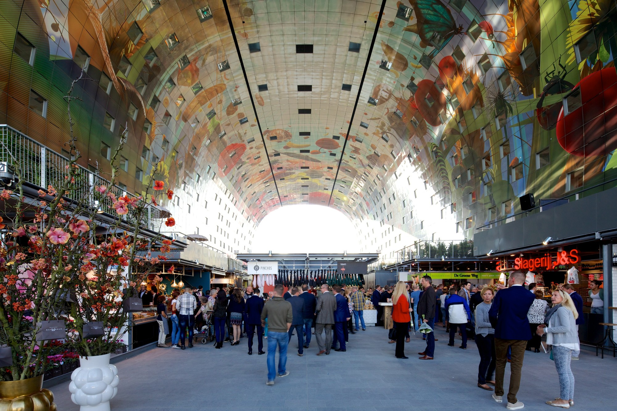Gallery of first look mvrdv completes largest covered for Nico s fish market