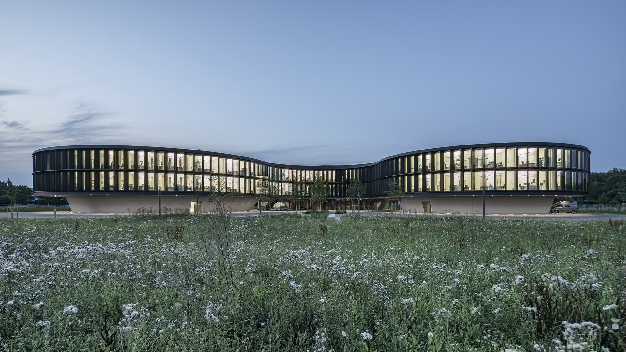 ESO Headquarters Extension / Auer Weber Assoziierte, © Aldo Amoretti