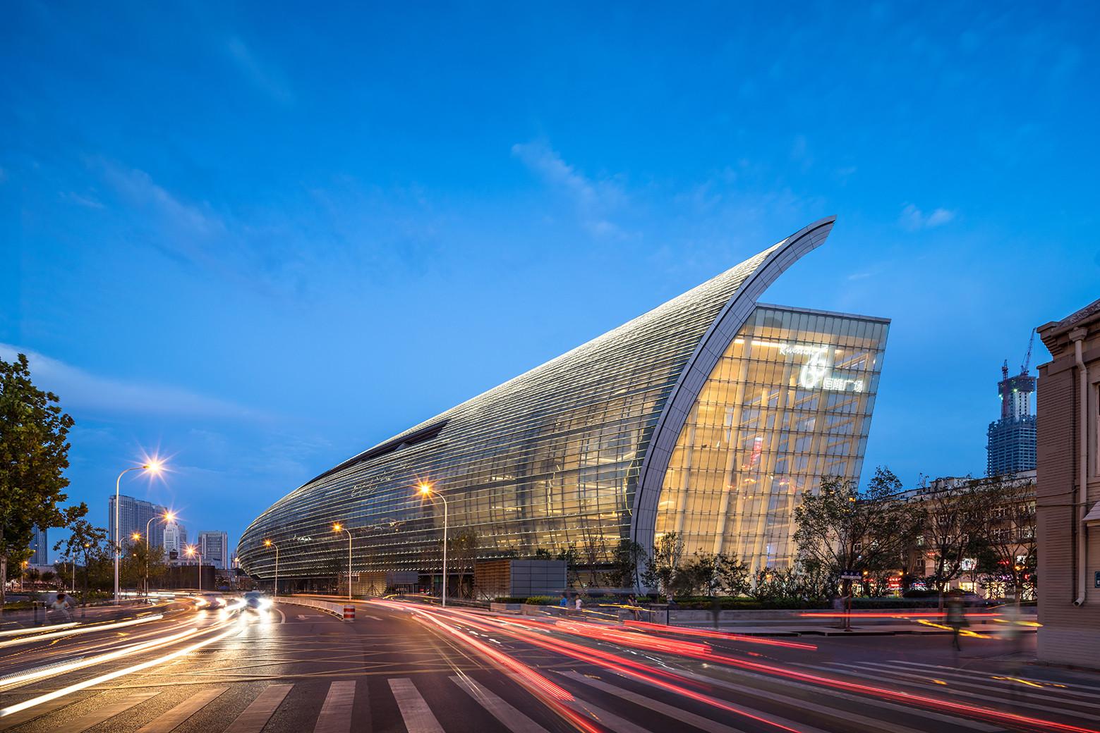 Tianjin Riverside 66 / Kohn Pedersen Fox, © Tim Griffith
