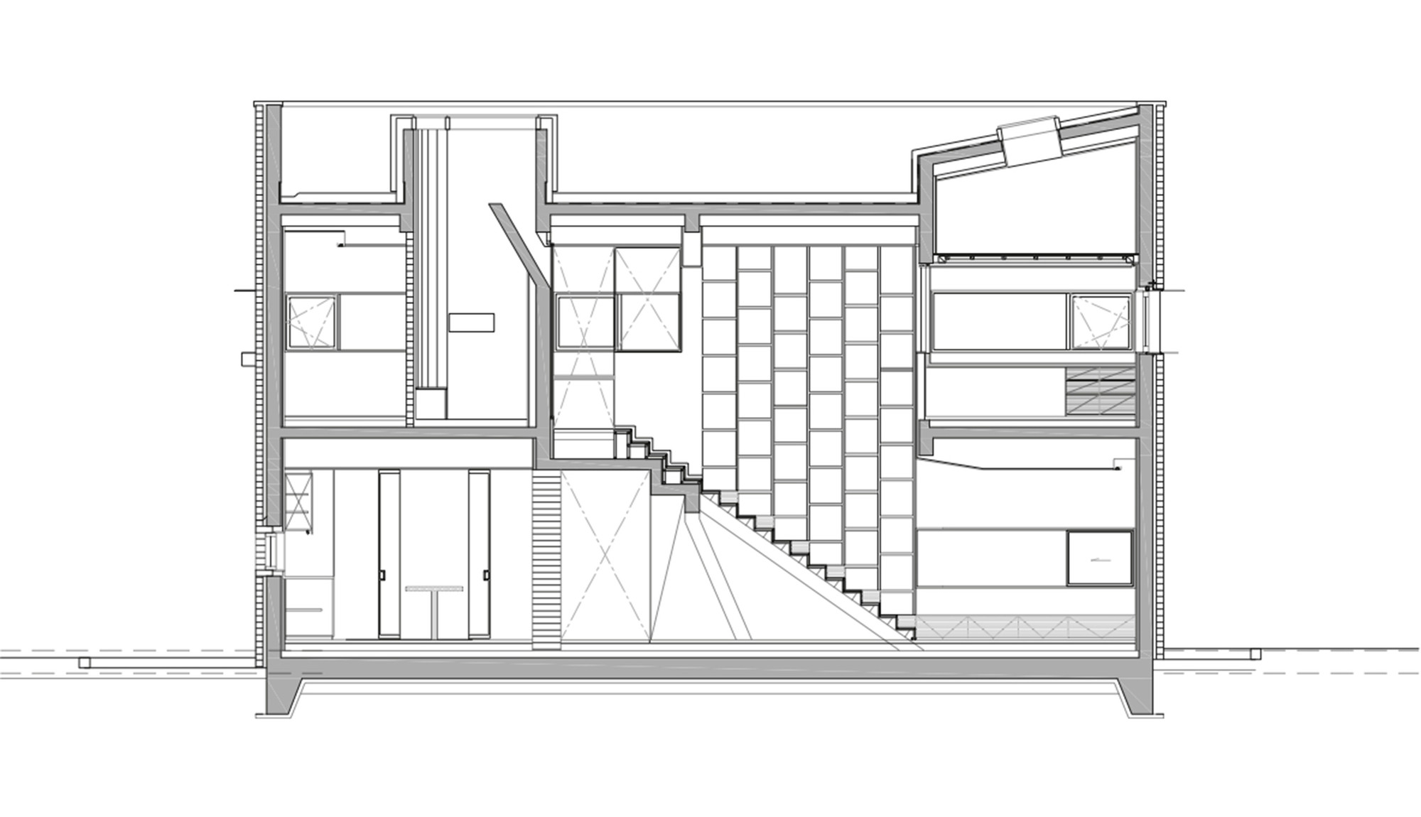 Gallery Of L Square House Wise Architecture 26