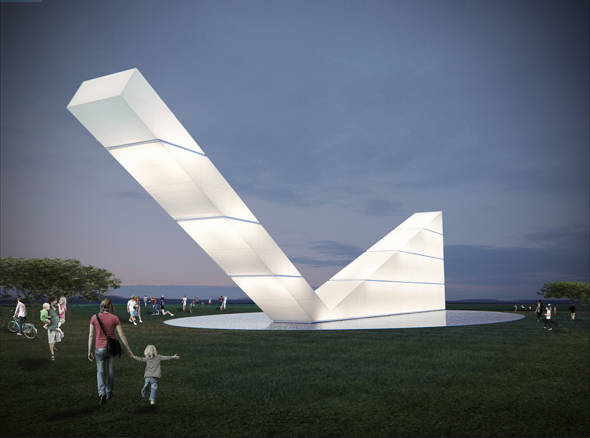Monumento a la libertad de expresión / Gustavo Penna Arquiteto & Associados Imagen cortesía de WAF