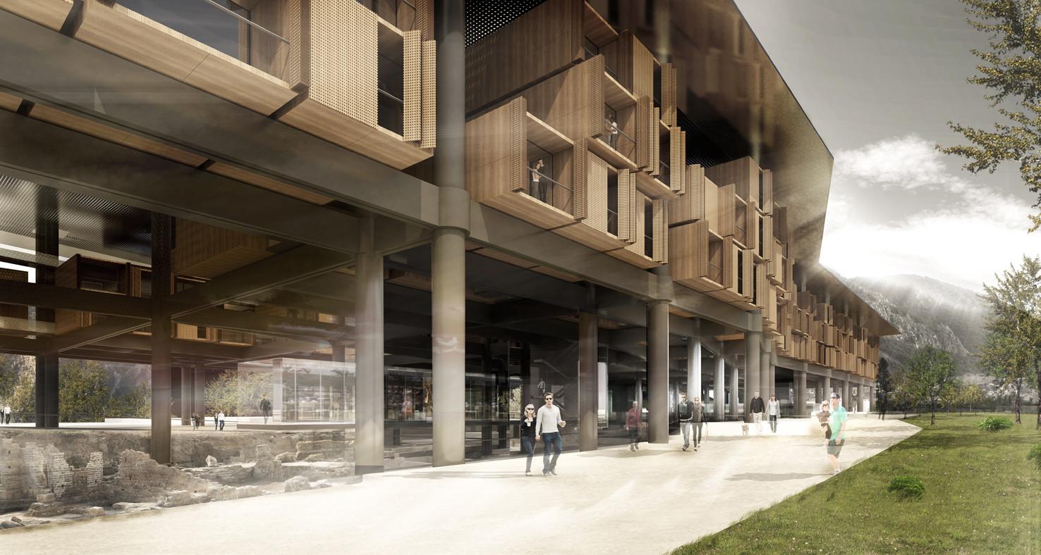 Antakya Museum Hotel / EAA-Emre Arolat Architects. Imagen cortesía de WAF