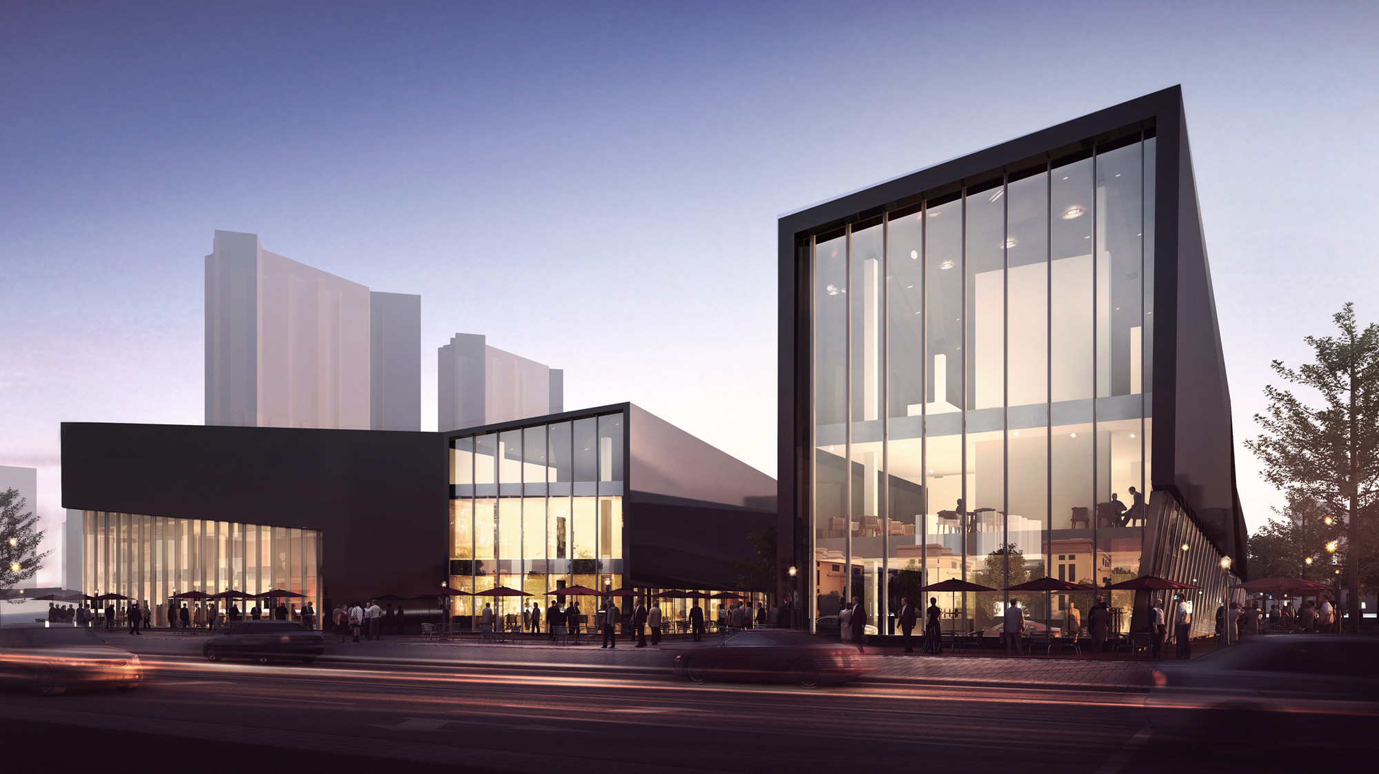 Rta office designs service center for china 39 s for Architectural design services