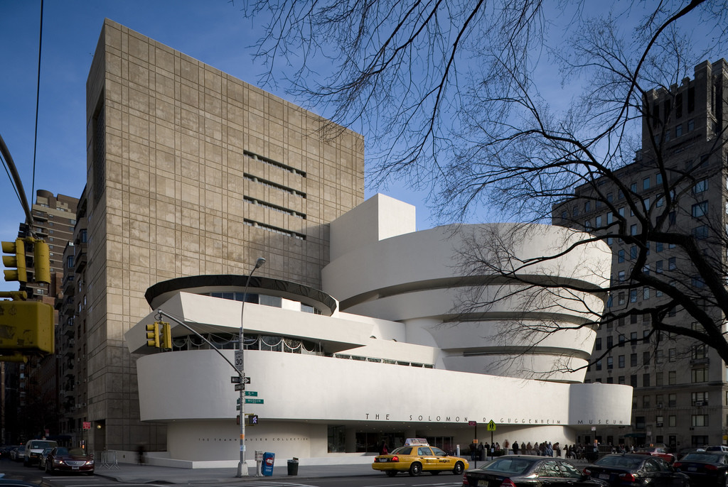 Guggenheim Considers Competition for Second NYC Location, Frank Lloyd Wright, Solomon R. Guggenheim Museum, New York, 1956-59 (Click image to learn more). Image © Flickr CC User Richard Anderson