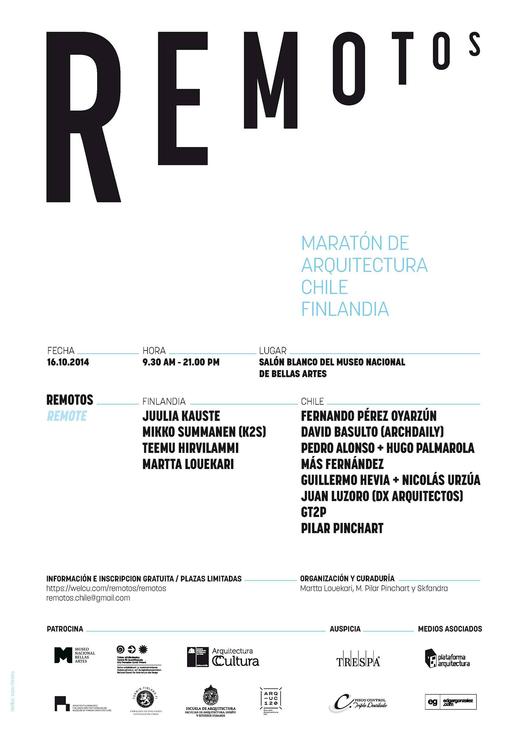 Remotos: Maratón de arquitectura Chile - Finlandia