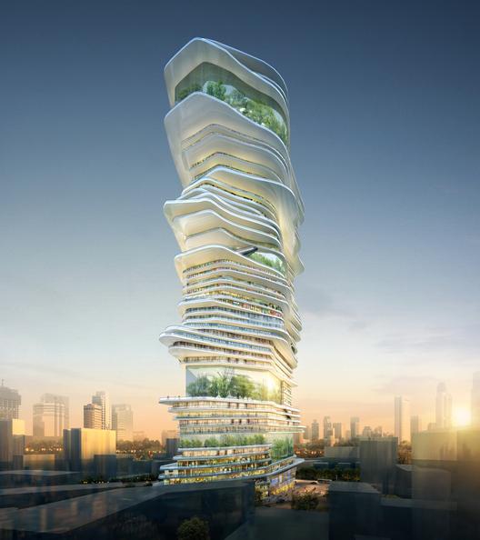 Cortesia de SURE Architecture Company