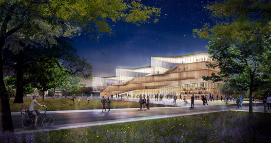 © WEISS/MANFREDI (Competition Renderings)