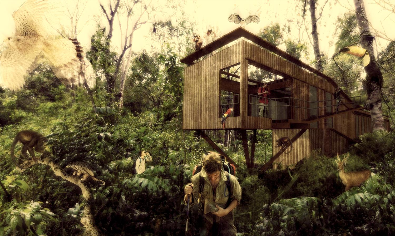 """Estudio Borrachia finaliza 2da etapa del proyecto """"Karadya Bio-reserva"""" en la selva argentina, Cortesia de Estudio Borrachia Arquitectos"""