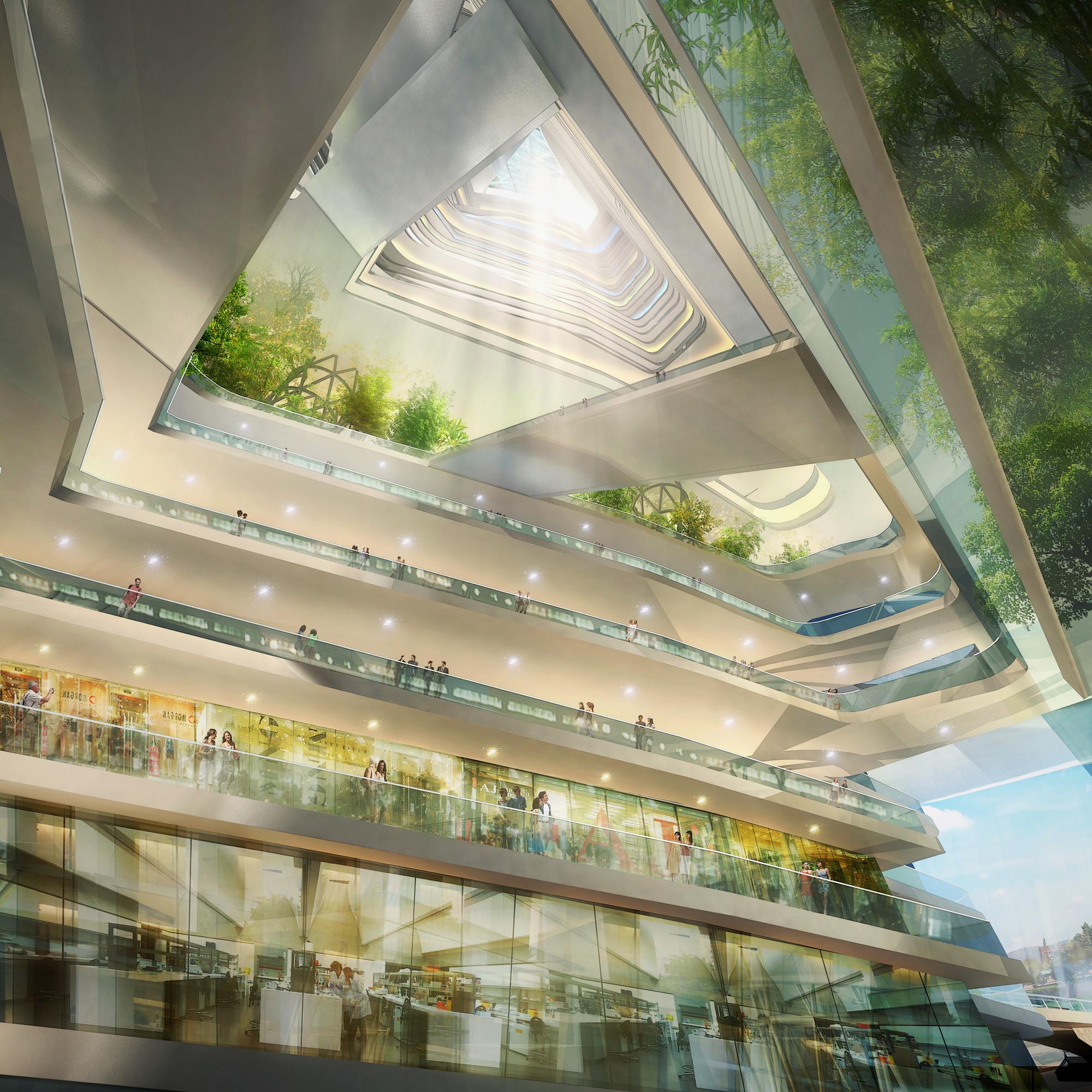Vista interior. Image Cortesia de SURE Architecture Company