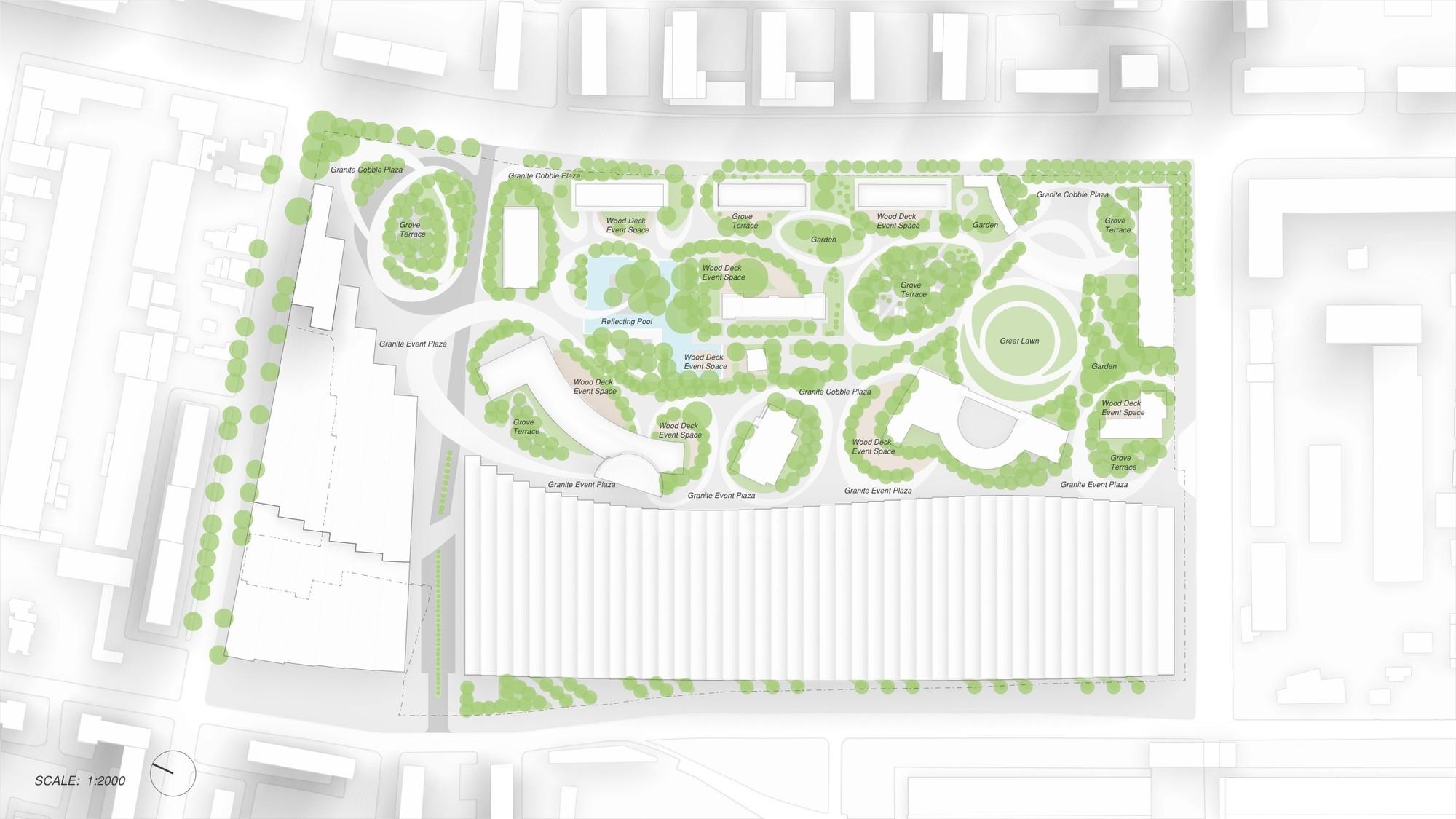 Master Plan. Image © Trahan Architects