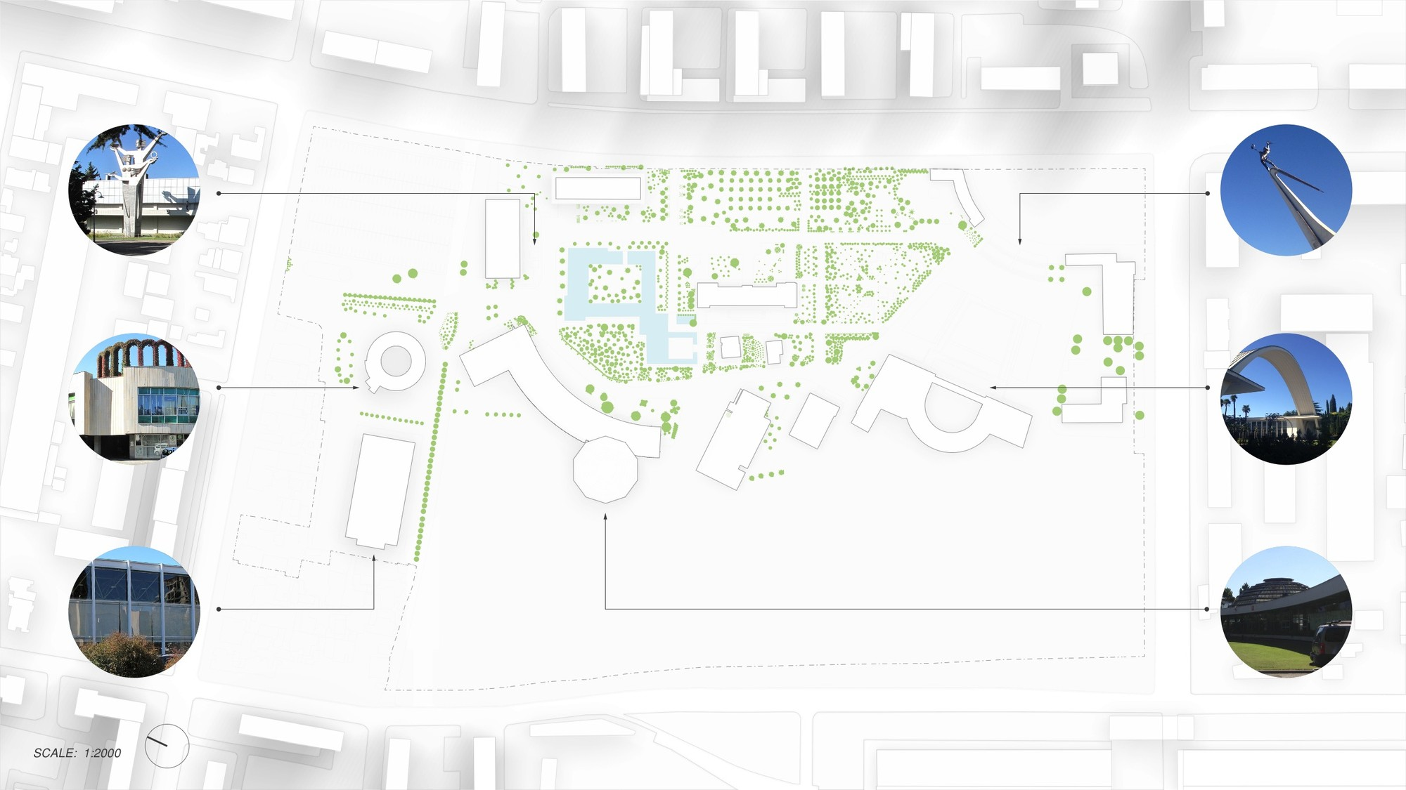 Existing Site Plan. Image © Trahan Architects