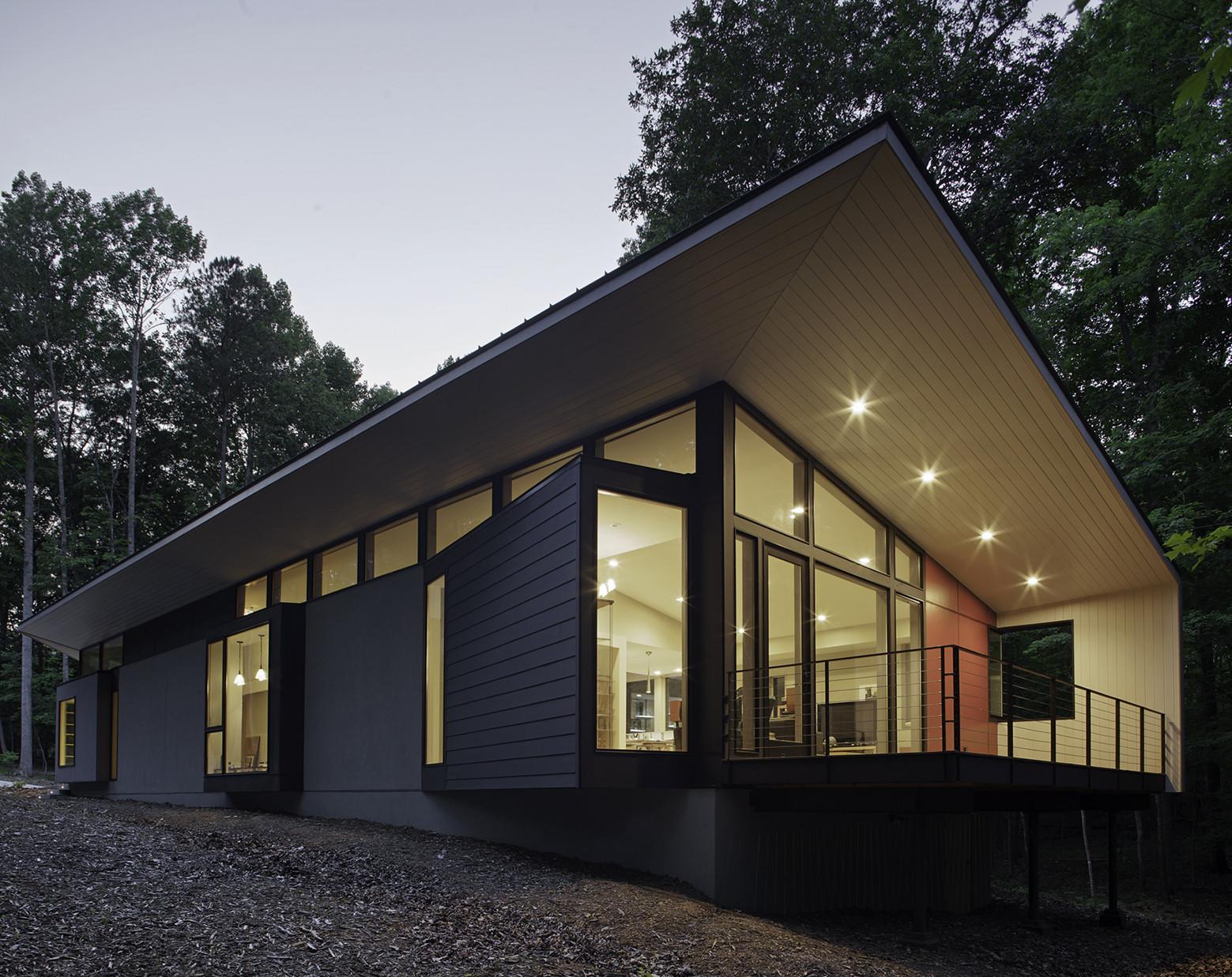 A House Named Fred / in situ studio, © Richard Leo Johnson