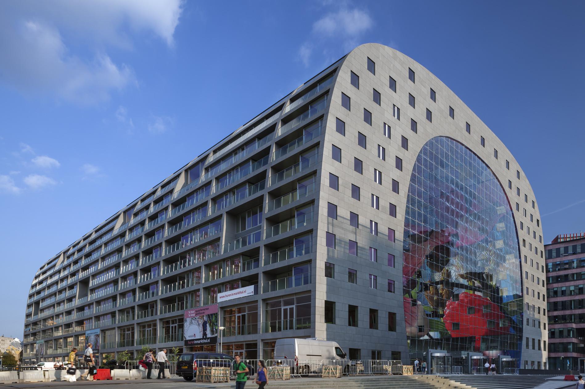 Gallery Of Markthal Rotterdam MVRDV 11