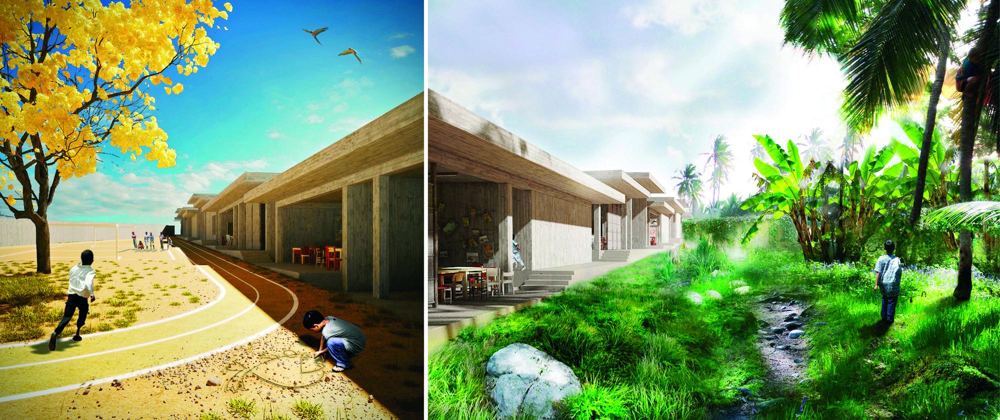 Acknowledgement: Indoor-Outdoor / Rusinek + Siuda. Image Cortesia de Fundación Holcim