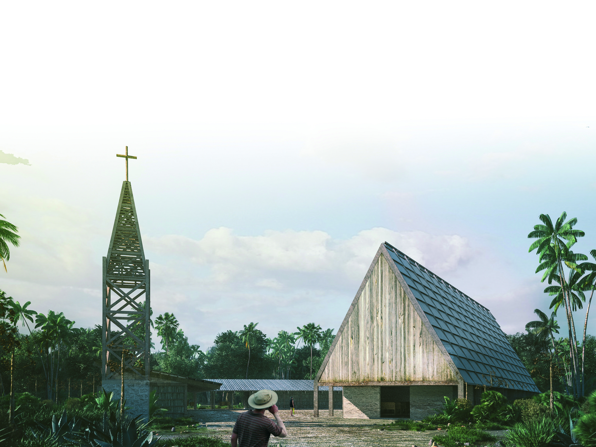 Next Generation: Laguna Chapel. Image Cortesia de Fundación Holcim