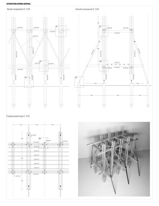 Estructura espina