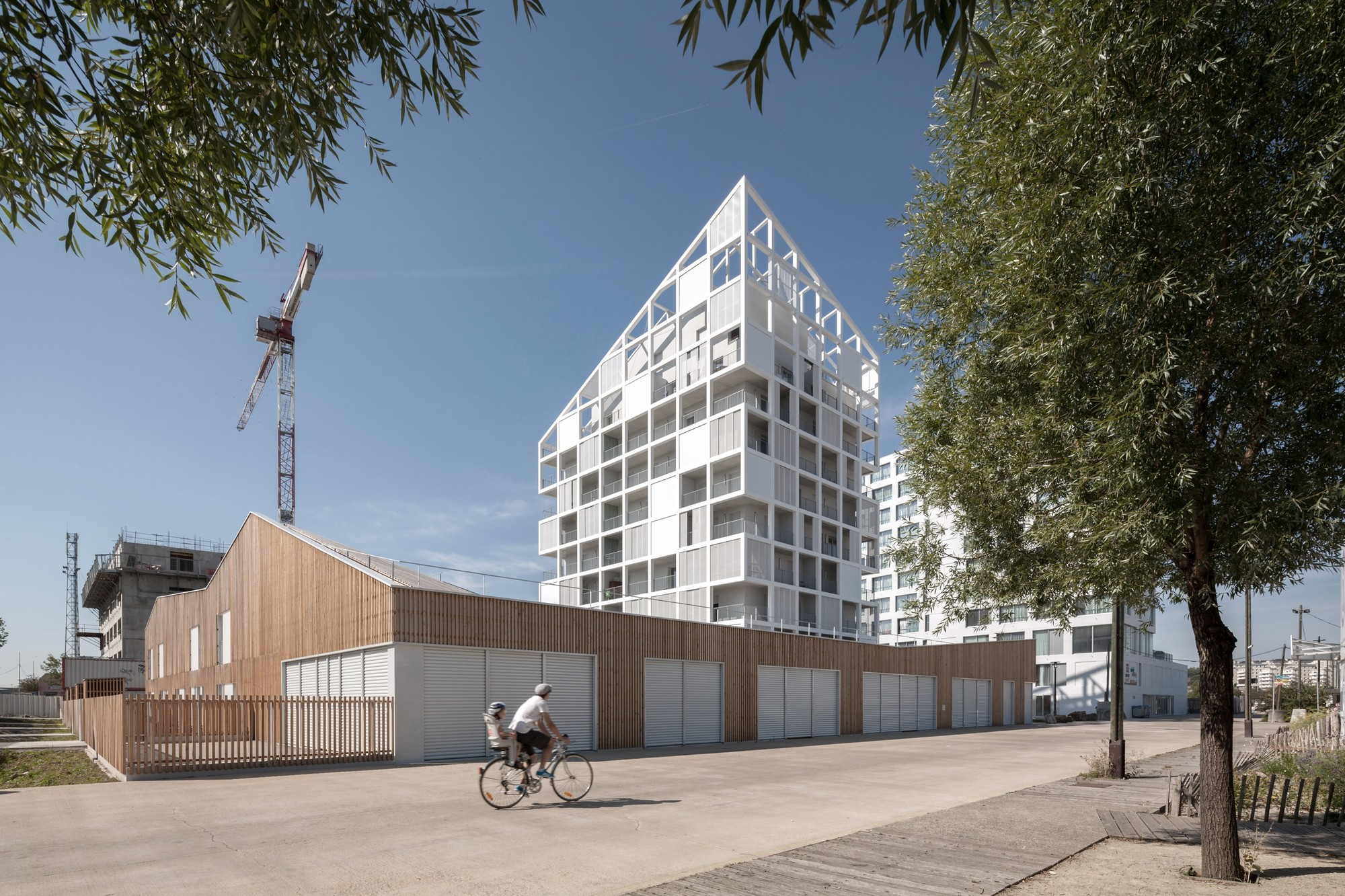 Gallery of 30 social housing units in nantes antonini for Architecture nantes