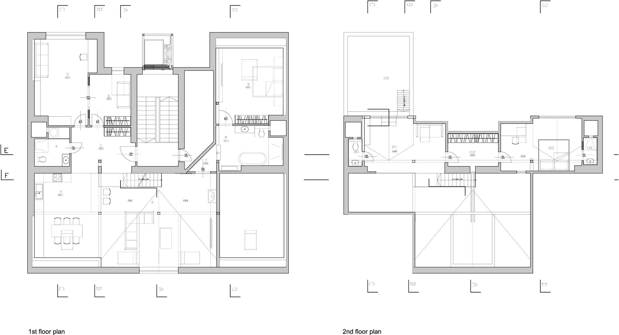 attic loft reconstruction b architecture archdaily. Black Bedroom Furniture Sets. Home Design Ideas