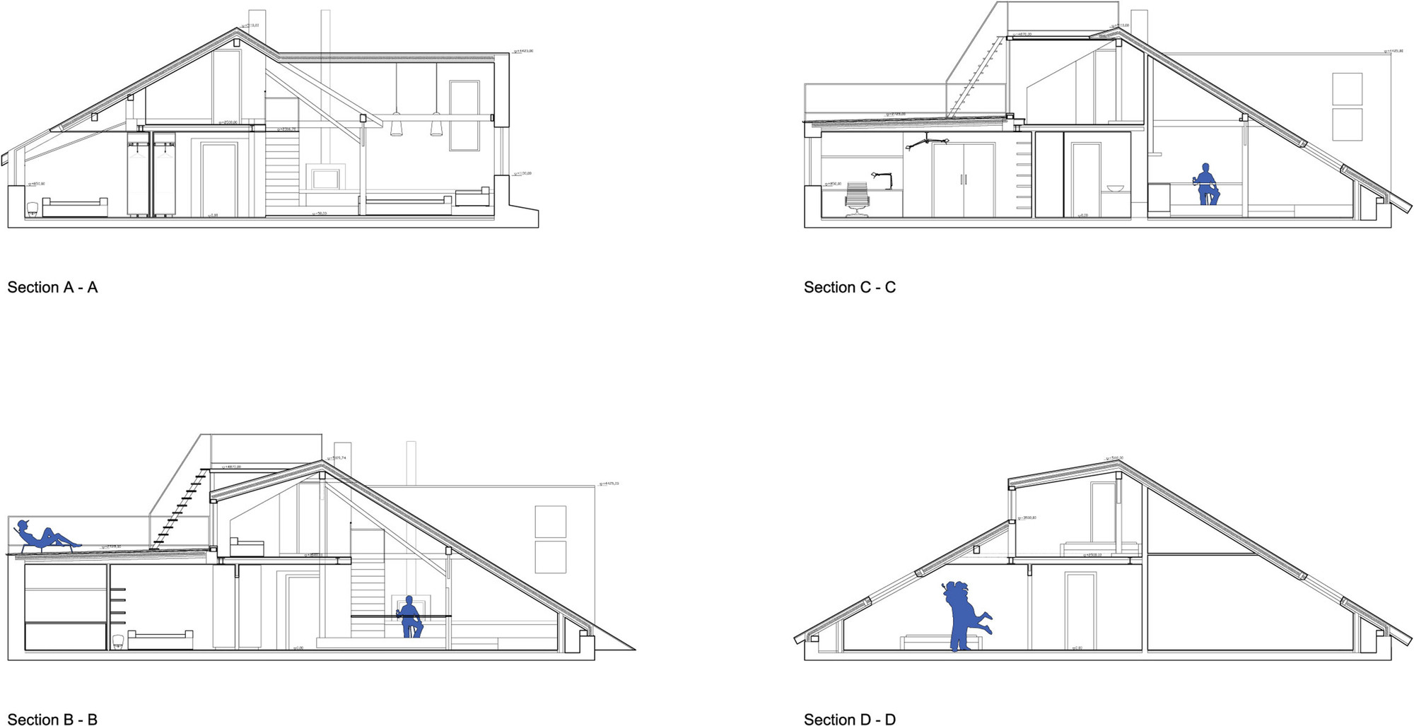 Gallery Of Attic Loft Reconstruction B 178 Architecture 13