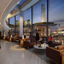 Residents' Lounge in Foster + Partners' Building. Image Courtesy of Battersea Power Station
