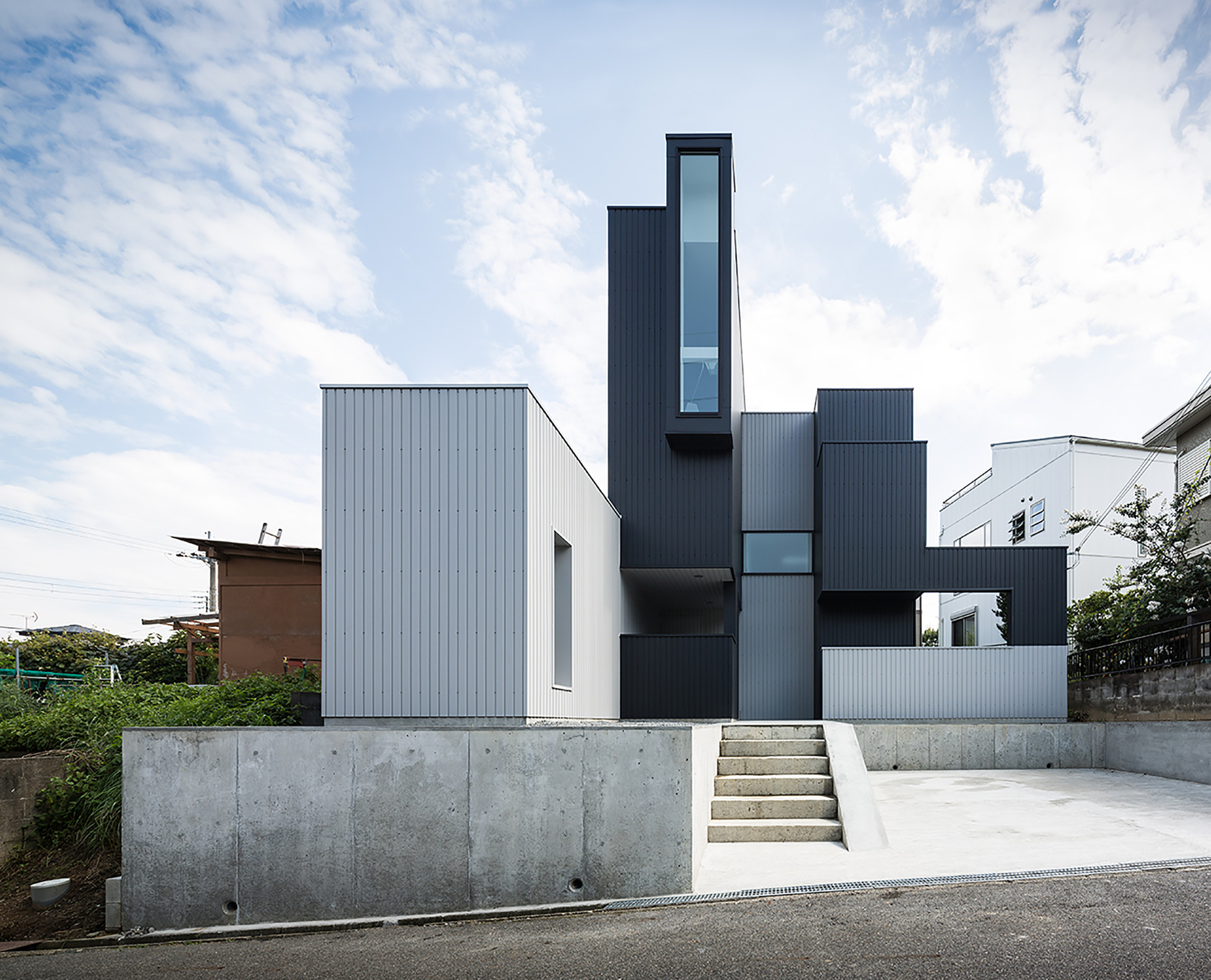 scape house form kouichi kimura architects archdaily