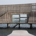The Kastrup Sea Bath in Copenhagen, by White arkitekter, could serve as a model for Sydney's more outdoor culture. Image © Robert Martin